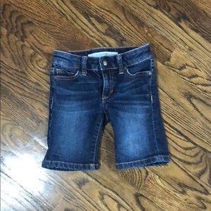 Girls Joe's Jeans shorts. Size 5. Like new.